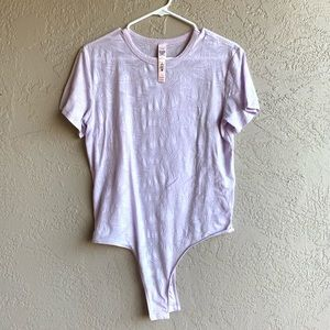 Victoria's Secret: Liliac bodysuit tee